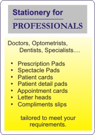 Professionals-stationery
