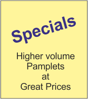 Pamphlet Specials
